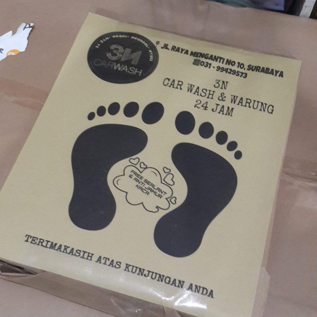 Alas Kaki Cuci Mobil Archives Percetakan Anugrah Surabaya