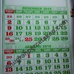 BARU.. Kalender Dwibulan dari Lebaran sampai Lebaran