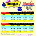 Harga Kalender Meja 2019 se Indonesia cepat dan murah